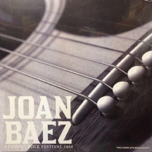 JOAN BAEZ / ジョーン・バエズ / NEWPORT FOLK FESTIVAL 1968 (180G LP)