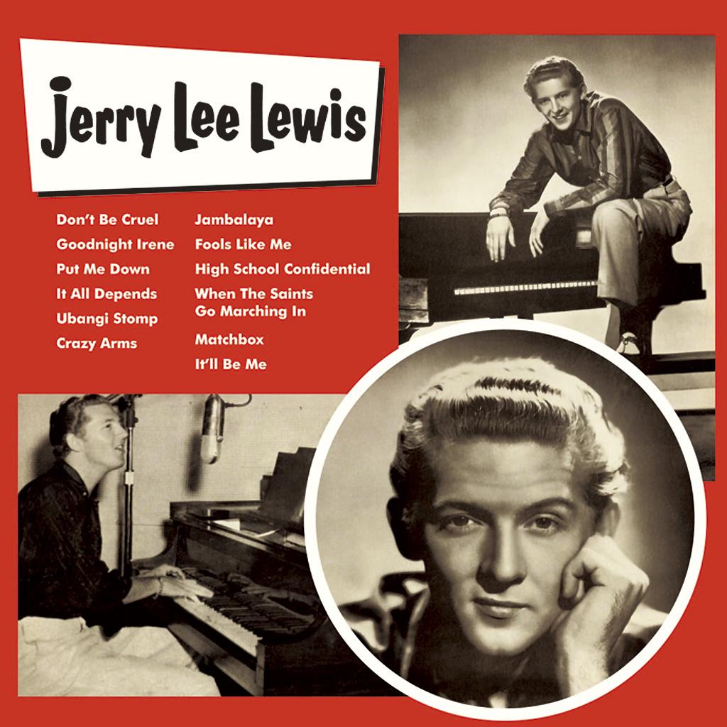 JERRY LEE LEWIS / ジェリー・リー・ルイス / ジェリー・リー・ルイス