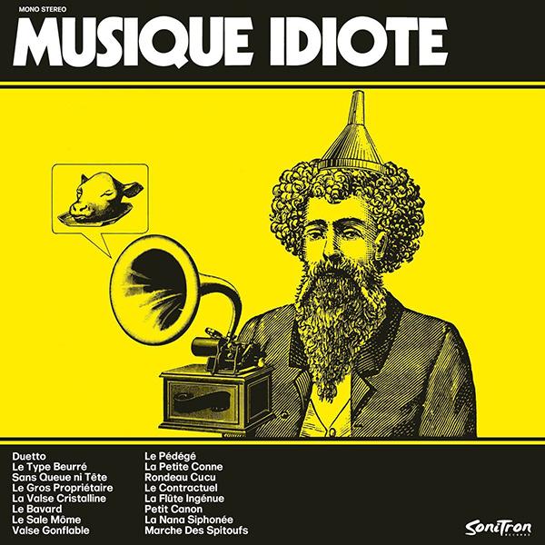 ROGER ROGER / MUSIQUE IDIOTE (180G LP)