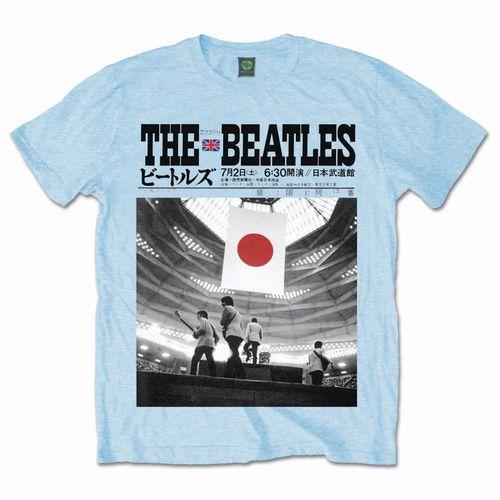 BEATLES / ビートルズ / AT THE BUDOKAN (T-SHIRT BLUE/S)