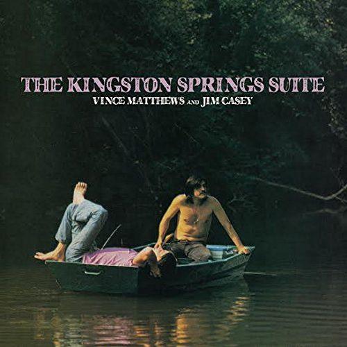 VINCE MATTHEWS & JIM CASEY / THE KINGSTON SPRINGS SUITE (CD)