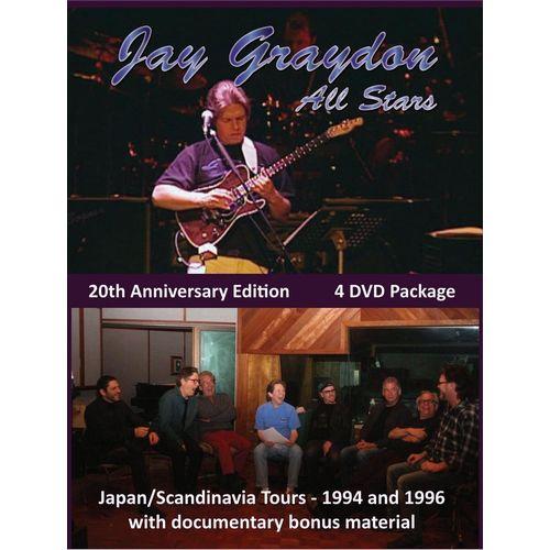 JAY GRAYDON / ジェイ・グレイドン / JAY GRAYDON ALL STARS - 20TH ANNIVERSARY EDITION (4DVD)