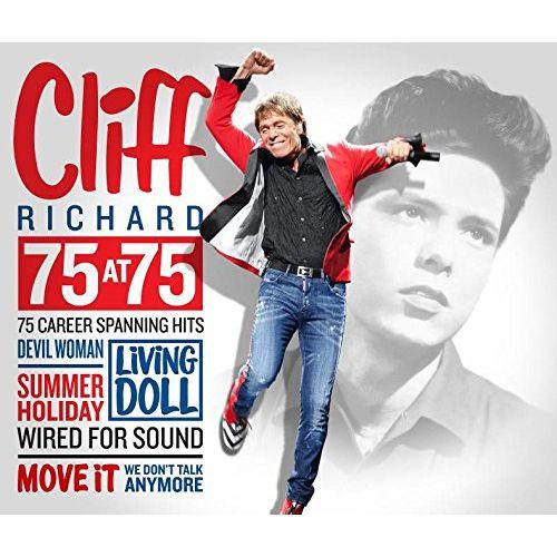 CLIFF RICHARD / クリフ・リチャード / 75 AT 75 (3CD)