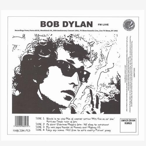 BOB DYLAN / ボブ・ディラン / FM LIVE (LP+CD)