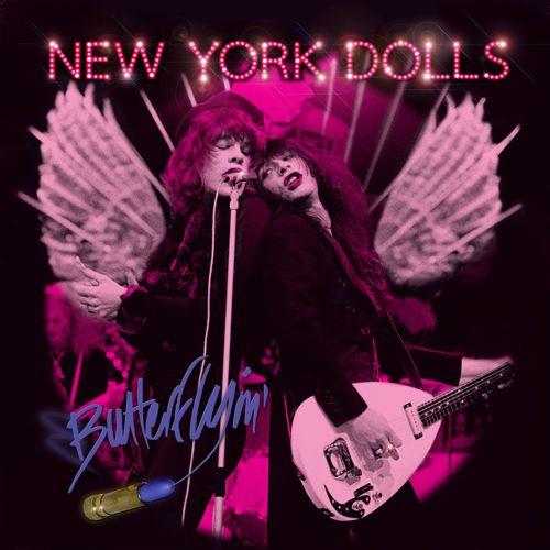 NEW YORK DOLLS / ニュー・ヨーク・ドールズ / BUTTERFLYIN' (LP)