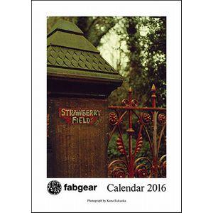 BEATLES / ビートルズ / FABGEAR CALENDAR 2016 / FABGEAR CALENDAR 2016