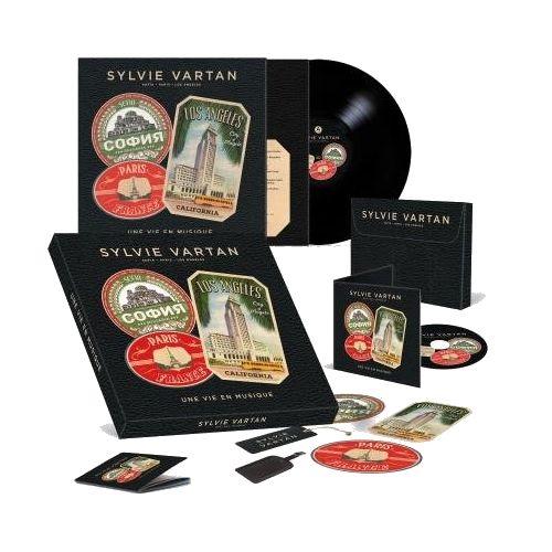 SYLVIE VARTAN / シルヴィ・バルタン / UNE VIE EN MUSIQUE (CD+LP BOX)