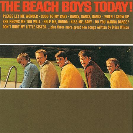 BEACH BOYS / ビーチ・ボーイズ / TODAY! (200G MONO LP)