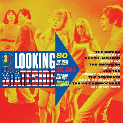 V.A. (MODS/BEAT/SWINGIN') / LOOKING STATESIDE: 80 US R&B, MOD, SOUL & GARAGE NUGGETS (3CD)