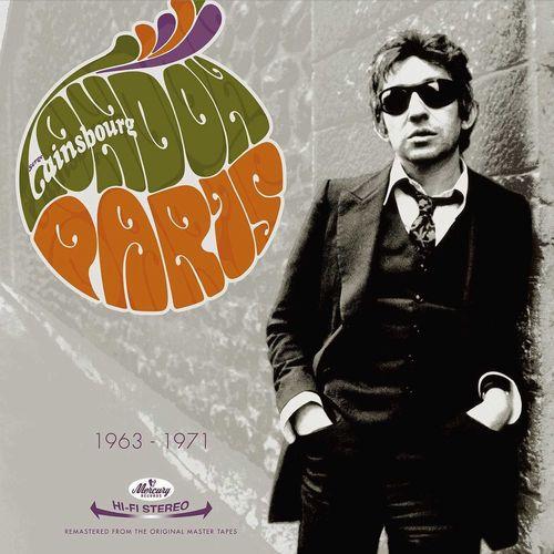 SERGE GAINSBOURG / セルジュ・ゲンズブール / COMPIL LONDON PARIS 1963 -1971