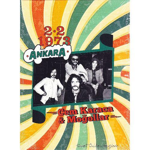 CEM KARACA & MOGOLLAR / ANKARA 1973 (CD)