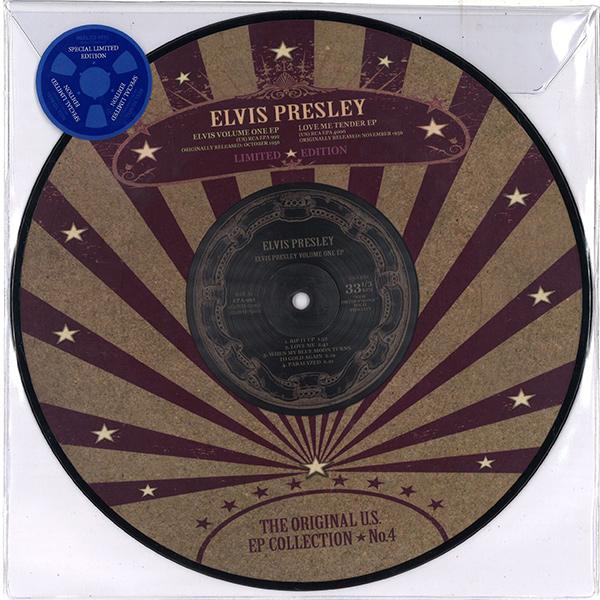 56年10月の4曲入りEP『ELVIS VOLUME ONE』、同11月の4曲入りEP『LOVE ME TENDER』をコンパイルしたオリジナルUS  EPコレクション第4弾。デジタル・リマスター。