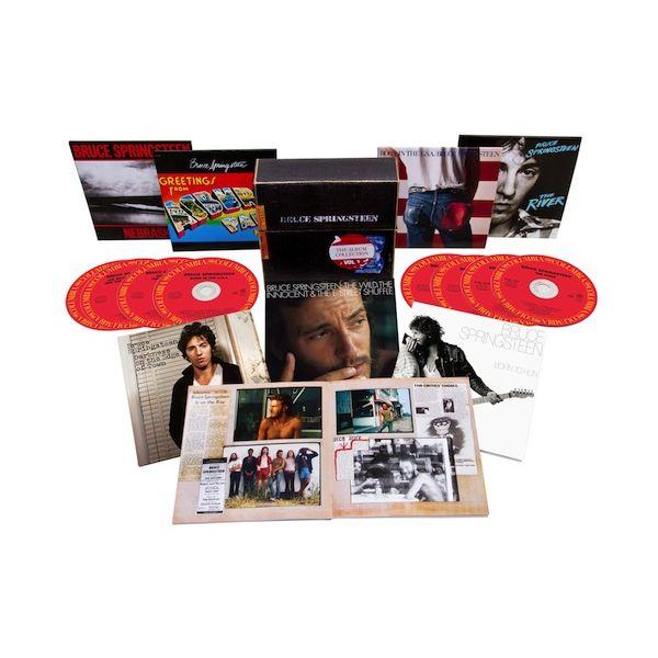 BRUCE SPRINGSTEEN / ブルース・スプリングスティーン / THE ALBUM COLLECTION VOL.1 1973-1984 / アルバム・コレクションVOL.1 1973-1984 (8CD BOX)