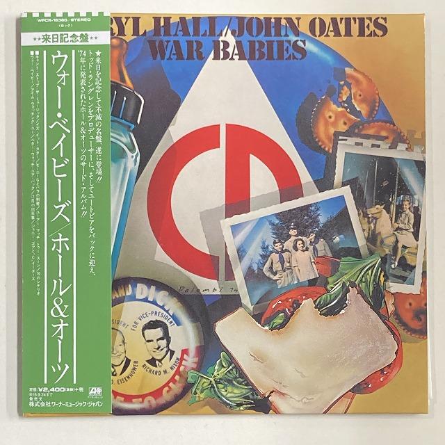 DARYL HALL & JOHN OATES / ダリル・ホール&ジョン・オーツ / WAR BABIES / ウォー・ベイビーズ