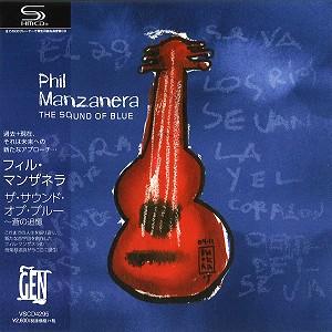 PHIL MANZANERA / フィル・マンザネラ / THE SOUND OF BLUE / ザ・サウンド・オブ・ブルー