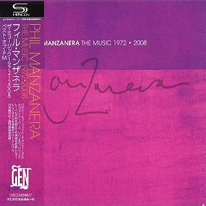 PHIL MANZANERA / フィル・マンザネラ / THE MUSIC 1972 - 2008 / ザ・ミュージック 1972~2008