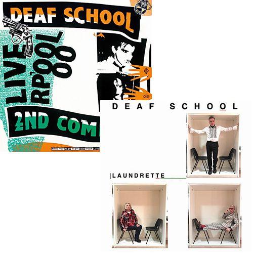 DEAF SCHOOL / デフ・スクール / CD 2タイトルまとめ買いセット