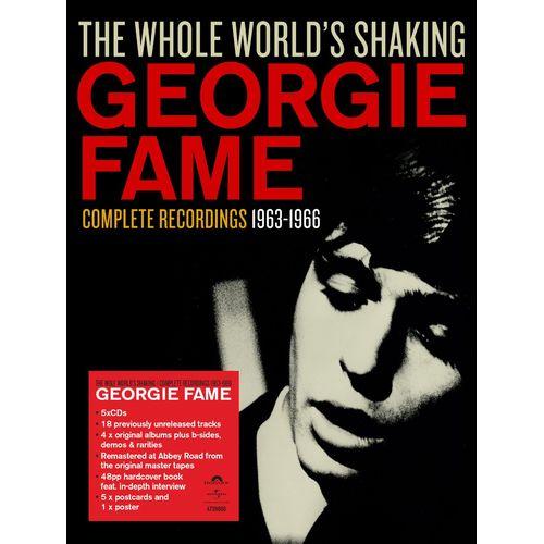 GEORGIE FAME / ジョージィ・フェイム / THE WHOLE WORLD'S SHAKING / コンプリート・レコーディング1963-1966 (5CD BOX)