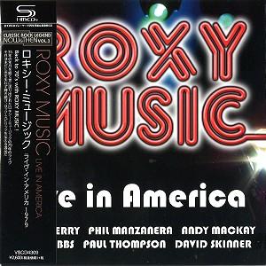 ROXY MUSIC / ロキシー・ミュージック / LIVE IN AMERICA / ライヴ・イン・アメリカ