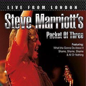 STEVE MARRIOTT'S PACKET OF THREE / スティーヴ・マリオット・パケット・オブ・スリー / LIVE FROM LONDON / ライヴ・イン・ロンドン 1985
