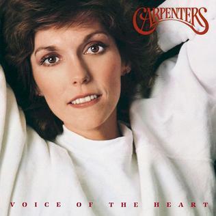 CARPENTERS / カーペンターズ / VOICE OF THE HEART / ヴォイス・オブ・ザ・ハート