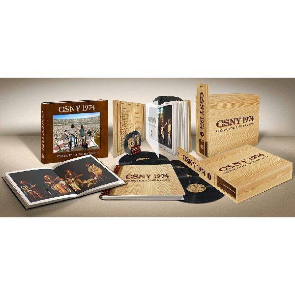 CROSBY, STILLS, NASH & YOUNG / クロスビー・スティルス・ナッシュ&ヤング / CSNY 1974 (LIMITED EDITION DELUXE BOX SET:180G 6LP+BLU-RAY AUDIO+DVD)