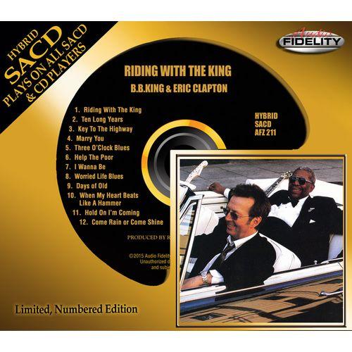 B.B. KING, ERIC CLAPTON / B.B.キング,エリック・クラプトン / RIDING WITH THE KING (HYBRID SACD)