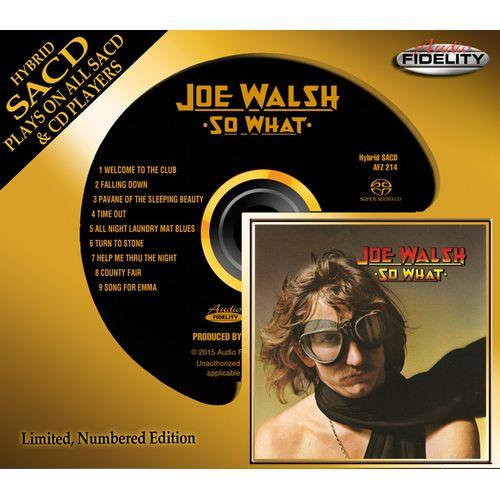 JOE WALSH / ジョー・ウォルシュ / SO WHAT (HYBRID SACD)