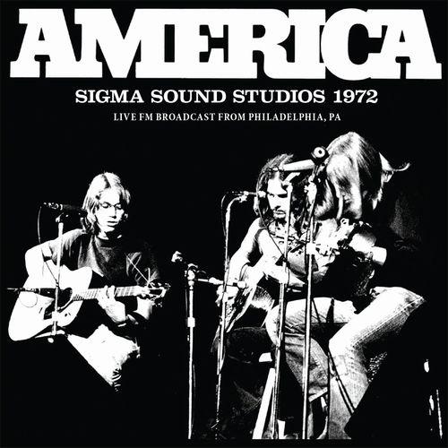 AMERICA / アメリカ / SIGMA SOUND STUDIOS 1972 (CD)