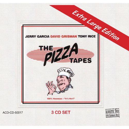 JERRY GARCIA, TONY RICE & DAVID GRISMAN / EXTRA LARGE PIZZA TAPES