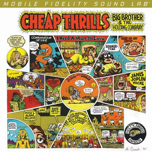BIG BROTHER AND THE HOLDING COMPANY  / ビック・ブラザー・アンド・ザ・ホールディング・カンパニー / CHEAP THRILLS (180G 45PRM 2LP)