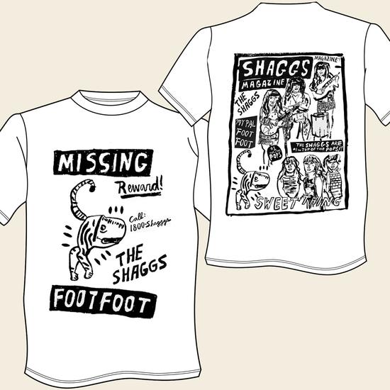 SHAGGS / シャッグス / FOOT FOOT / TEEN MAG ≪T-SHIRT SIZE:S≫