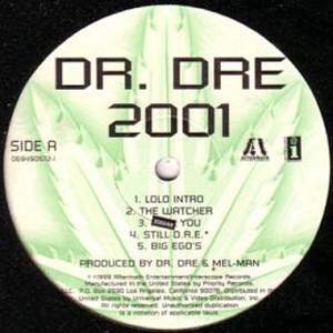 DR.DRE / ドクター・ドレー / 2001 INSTRUMENTAL - US ORIGINAL PRESS - アナログ2LP