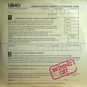 UB40 / SIGINING OFF / サイニング・オフ [生産限定盤]