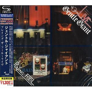 GENTLE GIANT / ジェントル・ジャイアント / プレイング・ザ・フール~ライヴ - SHM-CD<PROGRESSIVE ROCK1300 SHM-CD>