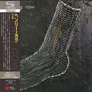 HENRY COW / ヘンリー・カウ / 不安 - リマスター/SHM-CD