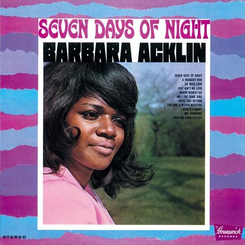 BARBARA ACKLIN / バーバラ・アクリン / SEVEN DAYS OF NIGHT / セヴン・デイズ・オブ・ナイト