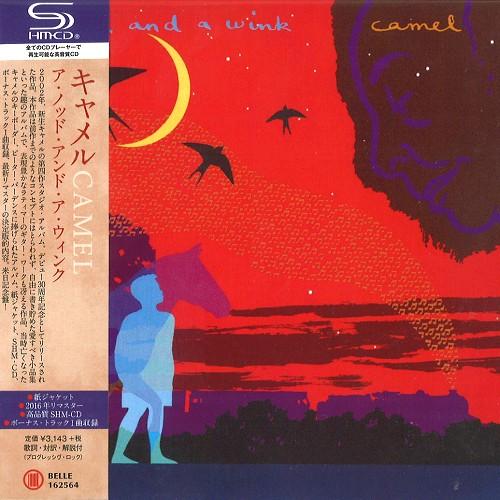 CAMEL / キャメル / ア・ノッド・アンド・ア・ウィンク - リマスター/SHM-CD