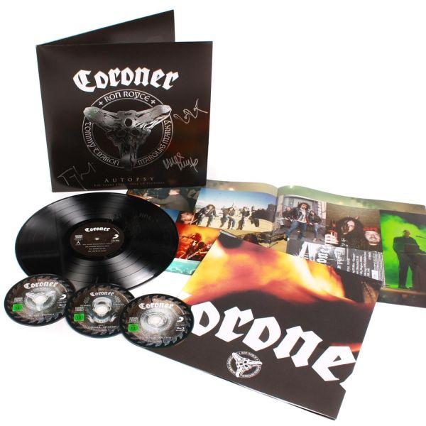 CORONER / コロナー / AUTOPSY<3BLU-RAY+LP>