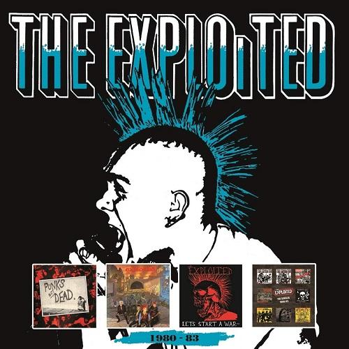 EXPLOITED / エクスプロイテッド / 1980-83 (4CD BOX)