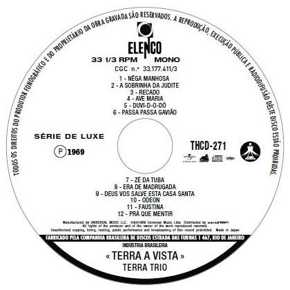 Cd think peloras brasileiras for First house music song